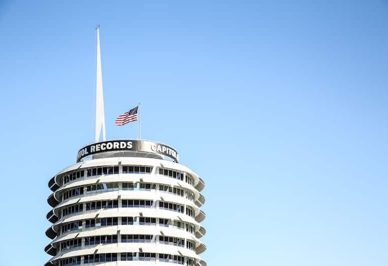 The Hotel Hollywood, Los Angeles, Výhľad z hotela