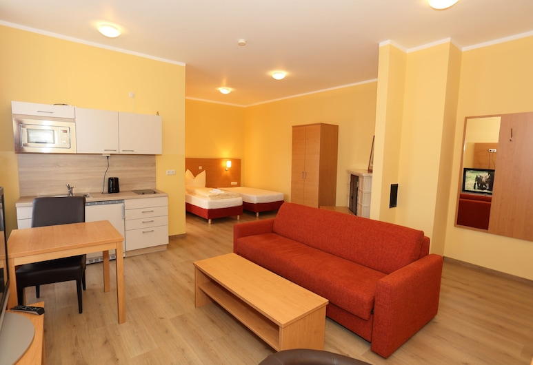 Appartementhotel Stade, Stade, Apartment, 1 Bedroom, Living Area