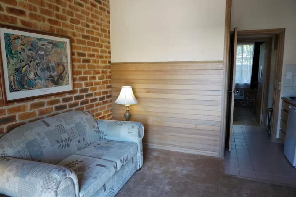 Departamento, 1 habitación, con acceso para silla de ruedas - Sala de estar