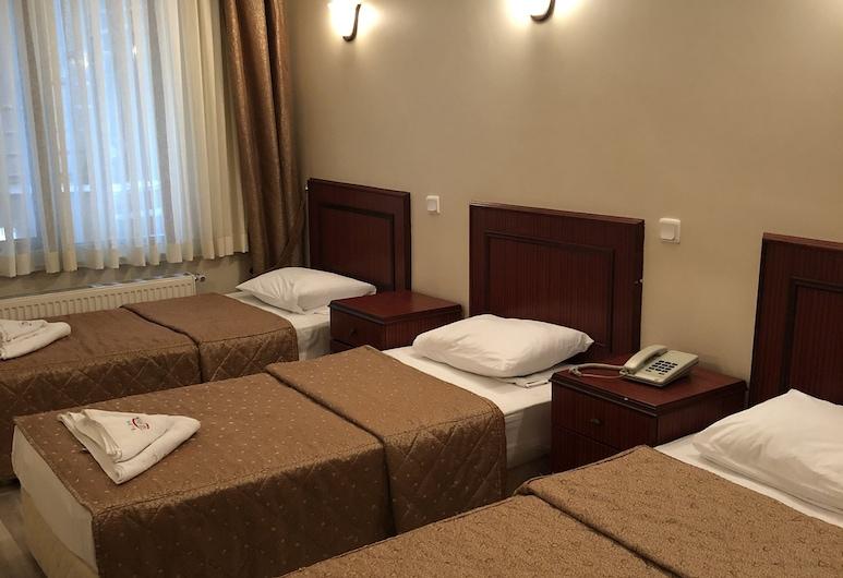 Emos Hotel, Istanbul, Trojlôžková izba typu Comfort, nefajčiarska izba, Hosťovská izba