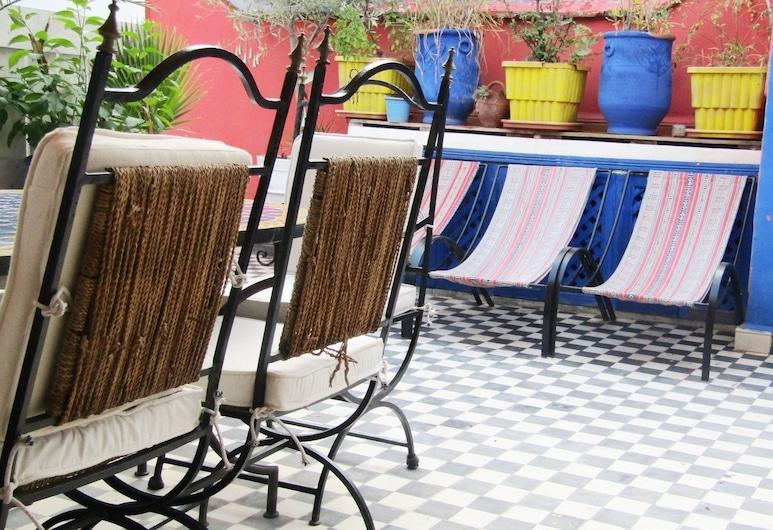 Riad Frend, Marrakech, Terraza o patio