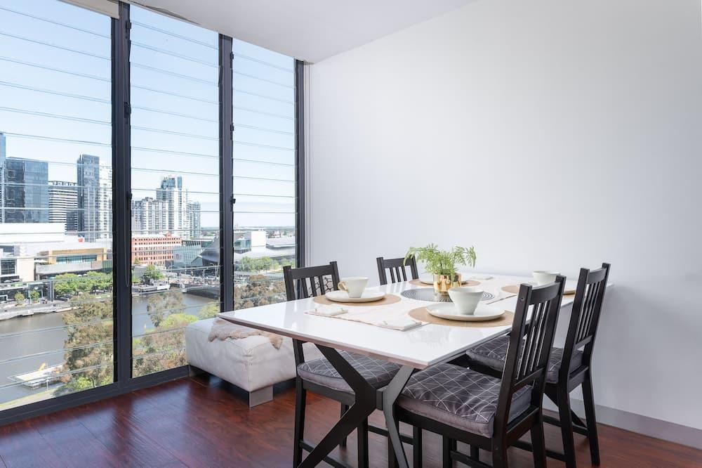 Апартаменты «Сити», вид на город - Балкон