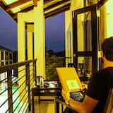 Deluxe-Dreibettzimmer - Balkon