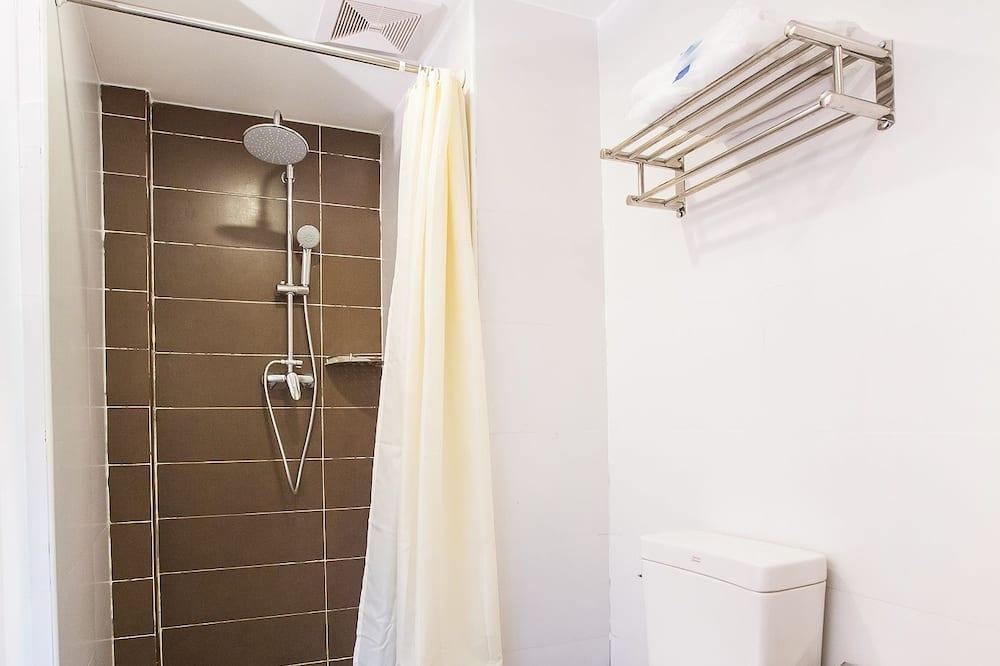 Luxe tweepersoonskamer, 1 tweepersoonsbed, niet-roken, Uitzicht op de stad - Badkamer