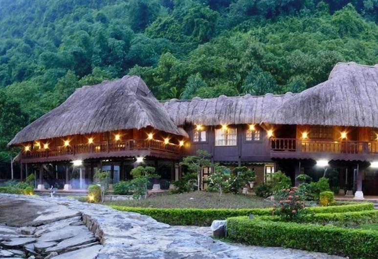 通岩生態渡假村飯店, Hoa Lu, 高級雙人房, 露台