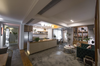 在重庆的重庆未泱宿创意民宿 - 长嘉汇江景店照片