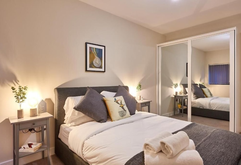 Mantella Lofts by JLJ Apartments, Birmingham, Executive-Apartment, mit Bad (First Floor), Zimmer