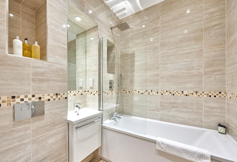 Mantella Lofts by JLJ Apartments, Birmingham, Appartement Exécutif, salle de bains attenante (First Floor), Chambre