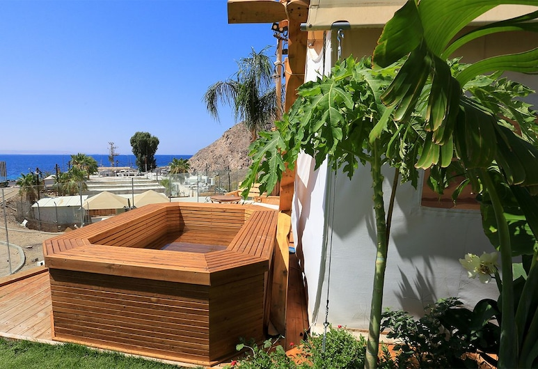Colonia Rest House Glamping, Eilat, Tent, Sea View (Double), Terrace/Patio