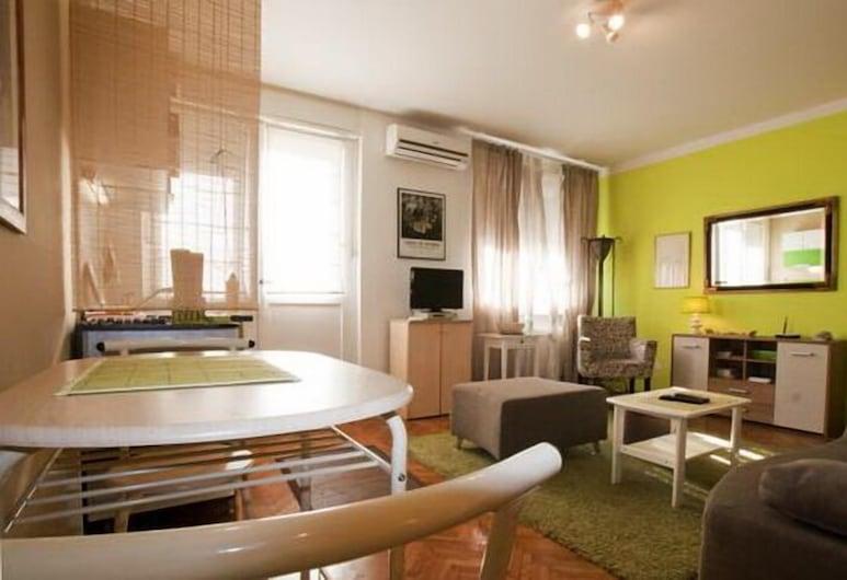 Apartment Green - Near Kalemegdan Citadel, Belgrad, Apartment, Wohnbereich