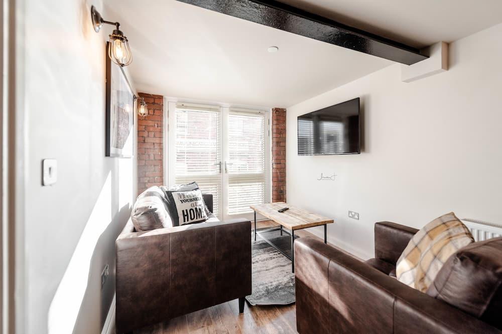 Apartemen Deluks, 1 Tempat Tidur Double, non-smoking - Ruang Keluarga