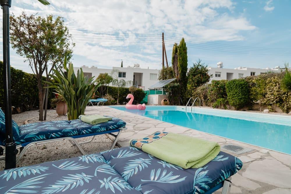 Vila, 3 kamar tidur, kolam renang pribadi - Teras/Patio