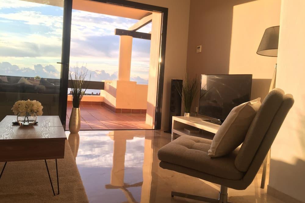 Luxusný apartmán - Obývačka