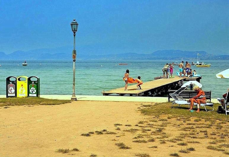 南湖公寓酒店, 佩斯基耶拉戴爾加達, 海灘