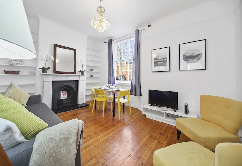 2 Bed Apartment near Kings Cross St Pancras FREE WIFI, London, Terrasse/Patio