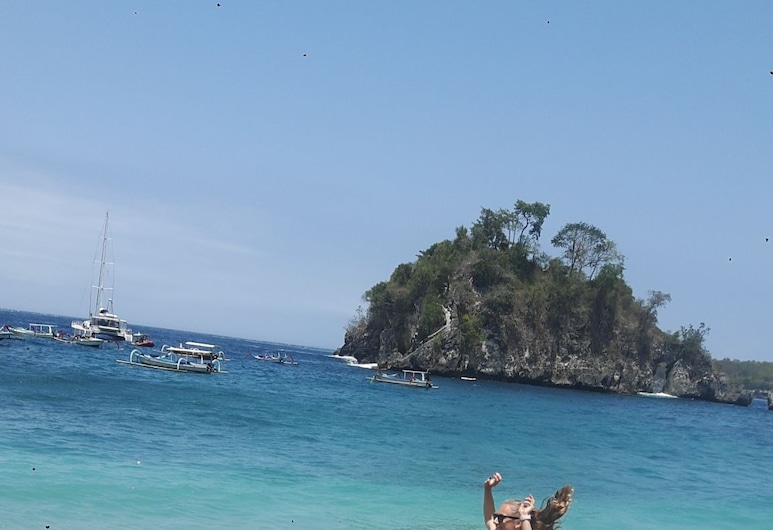 Dungkap mount view, Penida Island, Beach