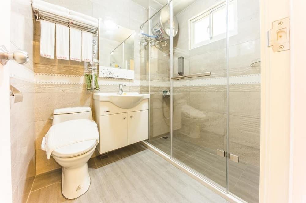 Comfort dvokrevetna soba, 2 kreveta za jednu osobu, za nepušače, pogled na grad - Kupaonica