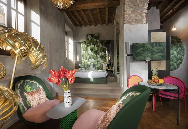 棕櫚套房酒店 - 世界級小型豪華酒店, 羅馬, 套房 (Forum View), 客房