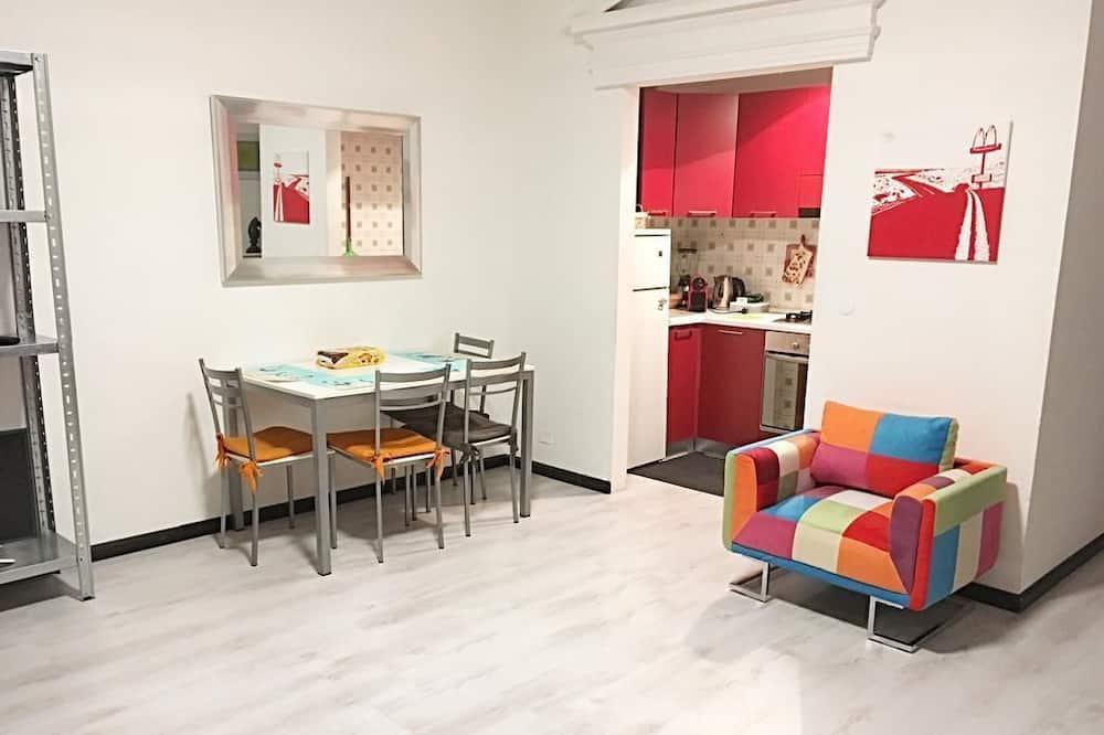 Appartement, 1 chambre, rez-de-chaussée - Restauration dans la chambre