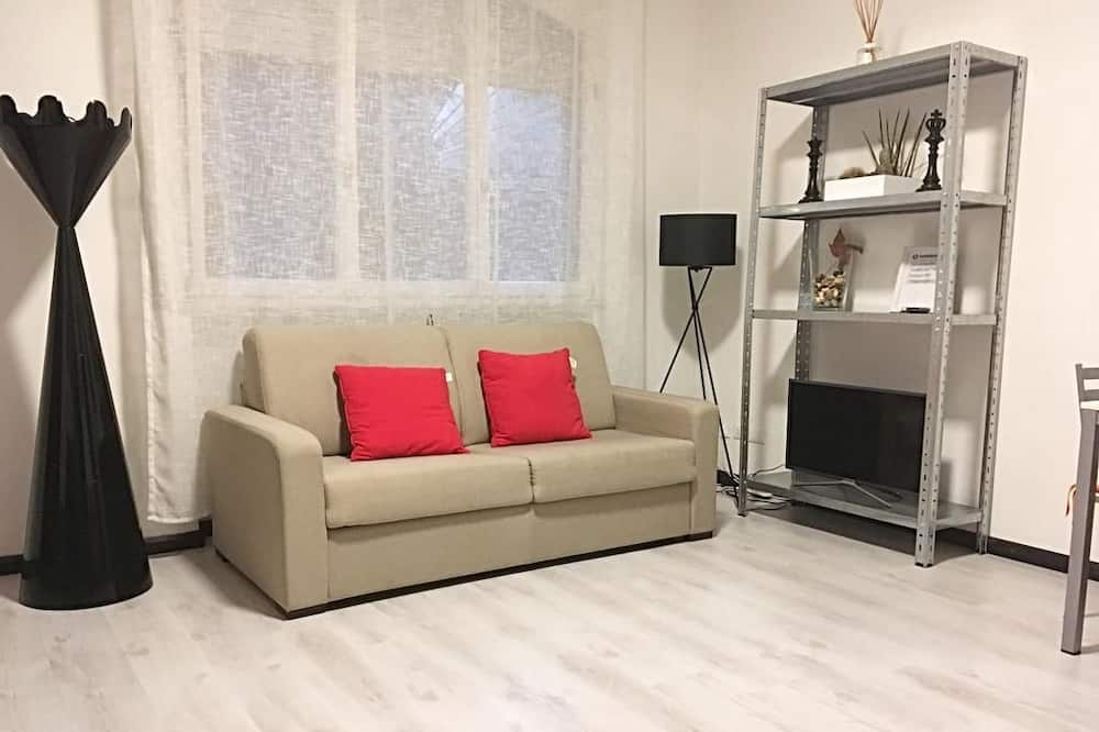 Appartement, 1 chambre, rez-de-chaussée - Coin séjour
