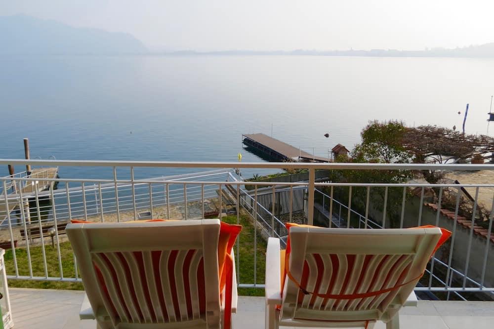 Külaliskorter, 1 magamistoaga, vaade järvele - Rõdu