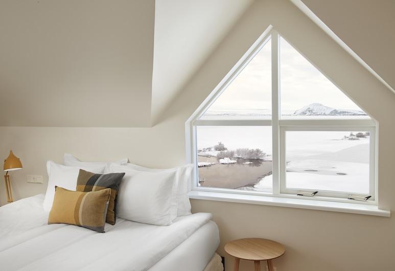 Guesthouse Reykjahlid, מיבטן, חדר, מיטת יחיד, חדר אורחים