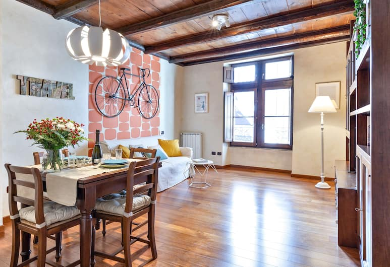 Rome as you feel - Cancelleria Apartment in Navona, Roma, Appartamento, 1 camera da letto, Pasti in camera