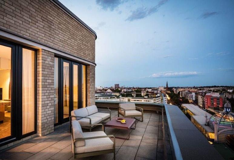 漂移客房公寓酒店, 柏林, 家庭公寓, 露台, 陽台