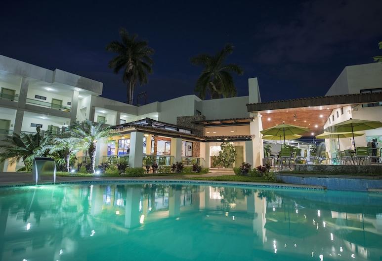 Hotel Palace Inn, Tuxtla Gutierrez, Útilaug