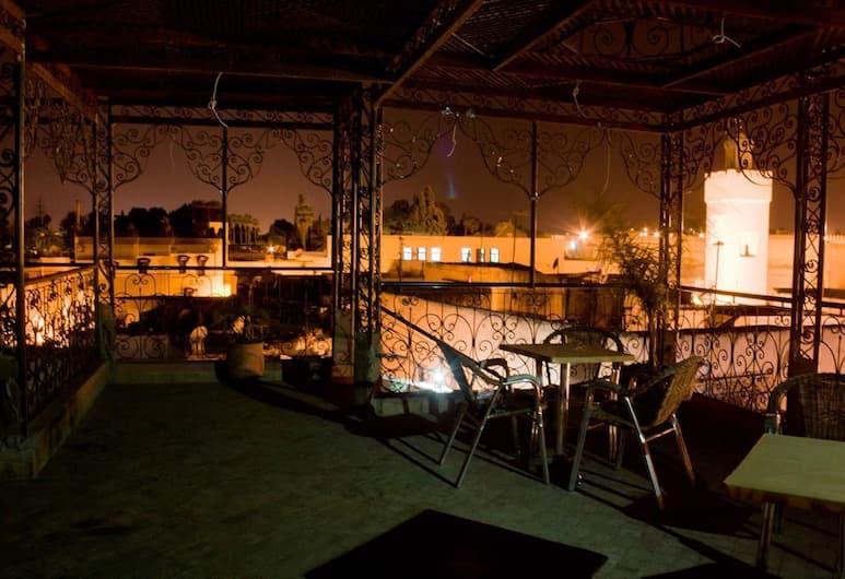 Hotel Bab Boujloud, Fes, Terras