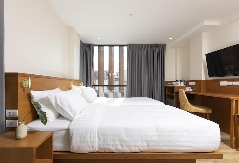 スクホン ホテル, バンコク, デラックス ルーム 禁煙 シティビュー, 部屋からの眺望