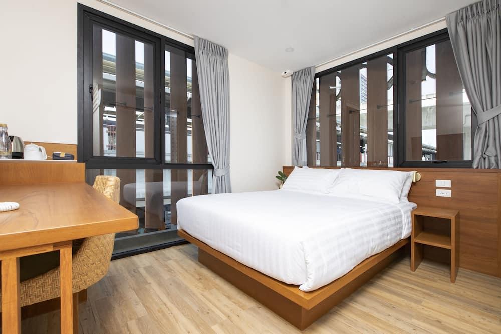 Standardværelse - 1 queensize-seng - ikke-ryger - byudsigt - Værelse