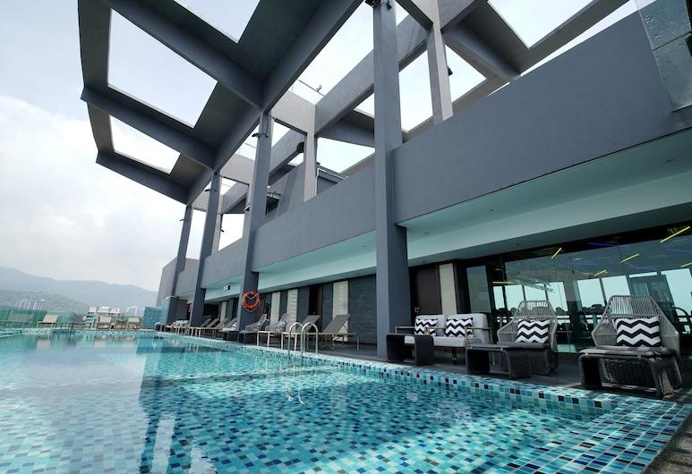 Jazz Hotel Penang, George Town, Kolam Terbuka