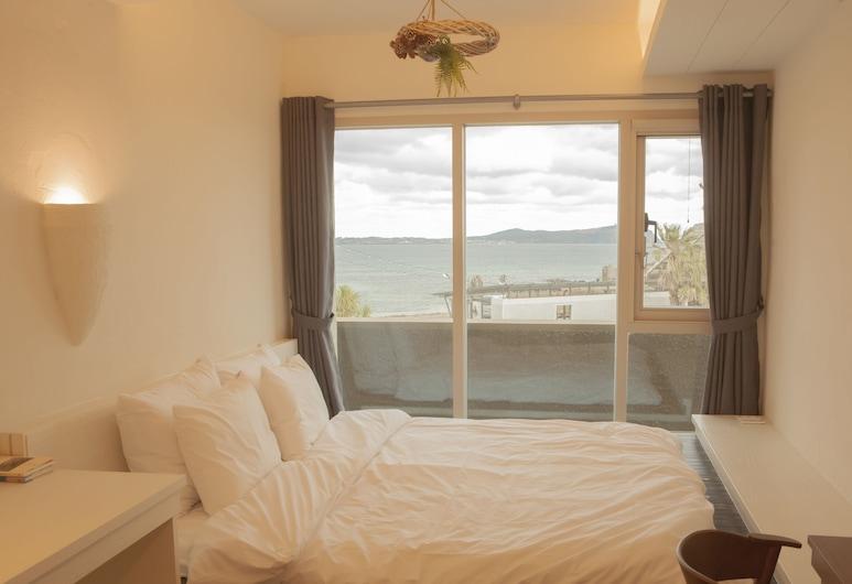Chuidasun Resort Tea & Meditation, Sogvipho, Ekonomiskās klases divvietīgs numurs ar divguļamo gultu, 1 divguļamā karaļa gulta (2F), Viesu numurs