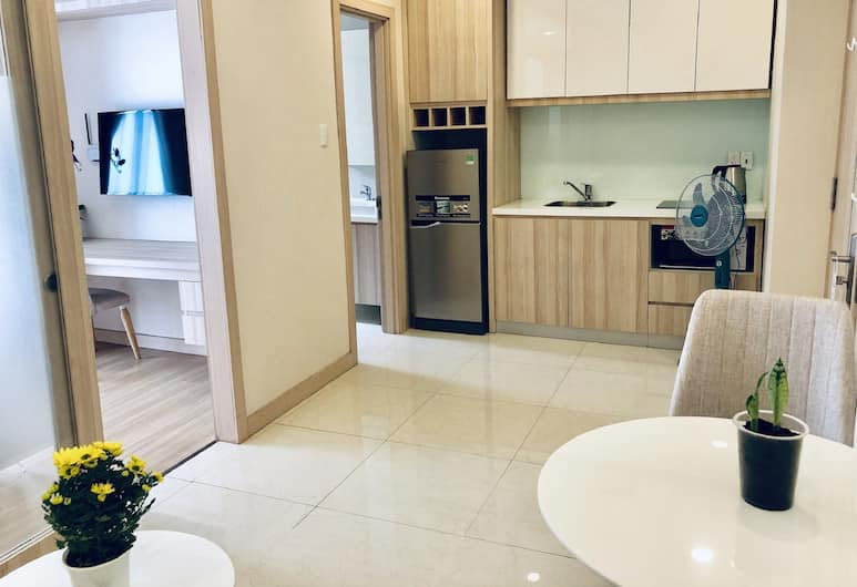 ゴールデン サンズ サービス アパートメント, ホーチミン, アパートメント 1 ベッドルーム, 部屋