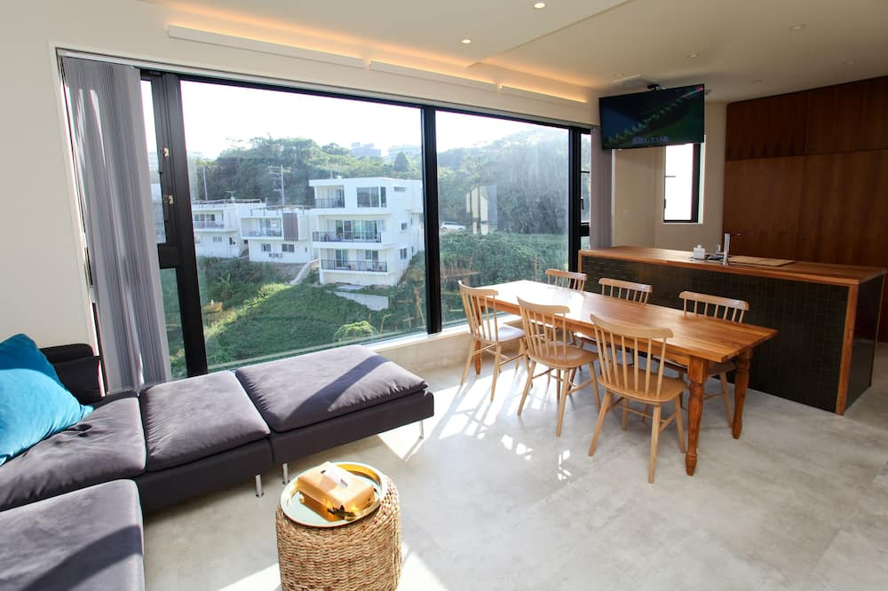 Deluxe-Apartment ( 3F ) - Wohnbereich