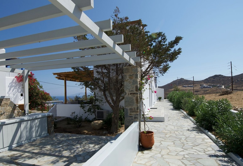 AMMOA- RAMMOS, เซริโฟส, บ้านพัก, 2 ห้องนอน (Rammos 1), ลานระเบียง/นอกชาน