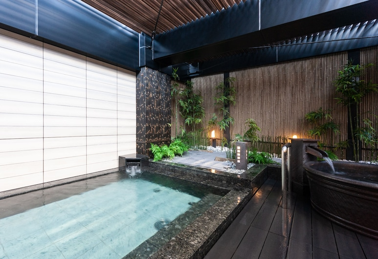APA HOTEL PRIDE <KOKKAIGIJIDOMAE> National Diet Bldg., Tokio, Baños termales