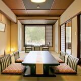 Tradiční hotelový pokoj (Semi Open-air Bath For 4 People) - Obývací prostor