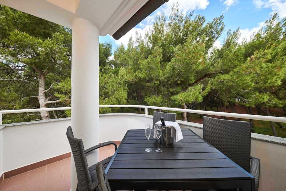 One Bedroom Apartment - Balkon