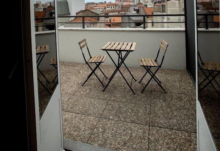 The Gate, Porto, Dvoulůžkový pokoj, terasa, Terasa