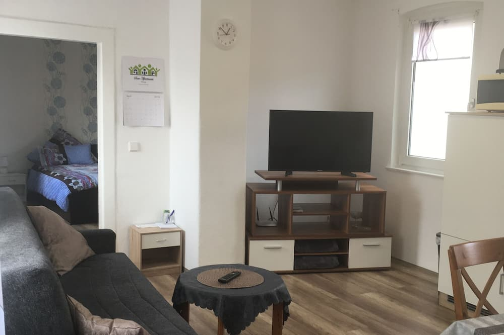 Classic Apartment, Smoking - Living Room