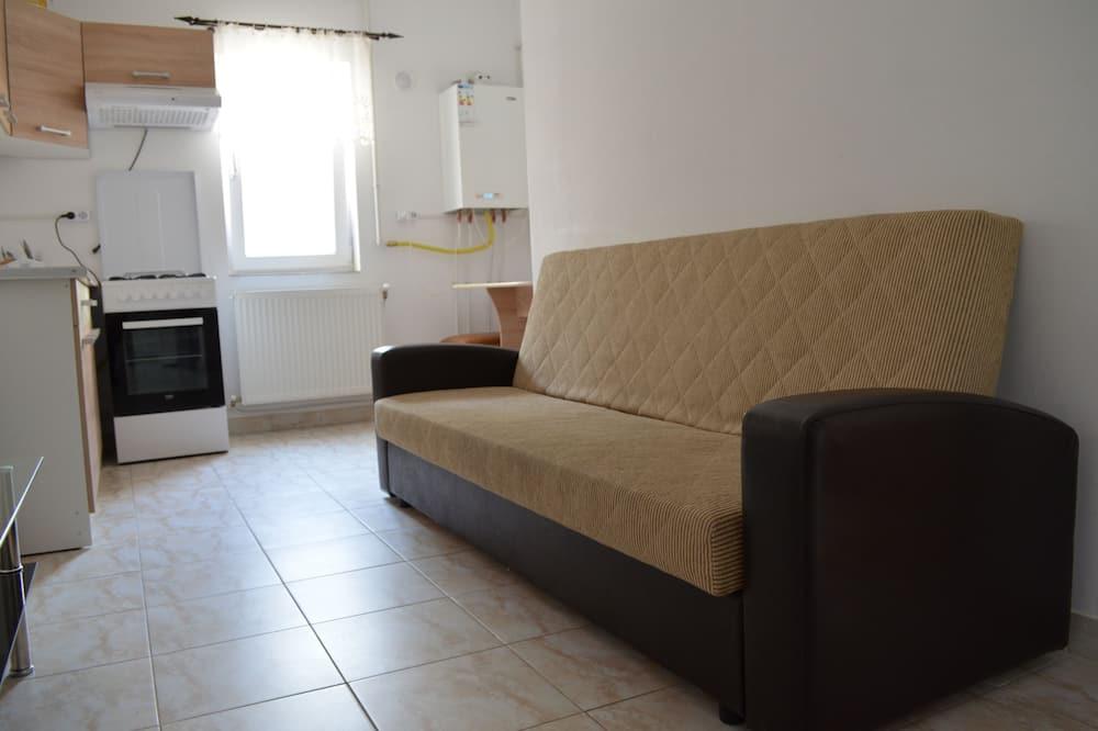 City Apartment, 1 Bedroom - Ruang Tamu