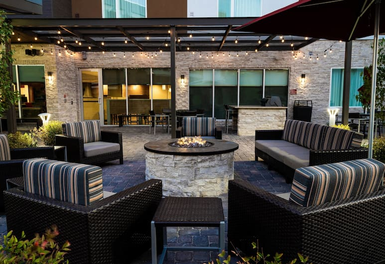 TownePlace Suites by Marriott Las Vegas City Center, Las Vegas, Teras/Veranda