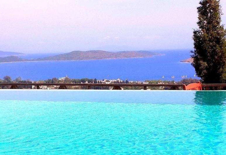 빌라 오르타켄트, 보드룸, 야외 수영장
