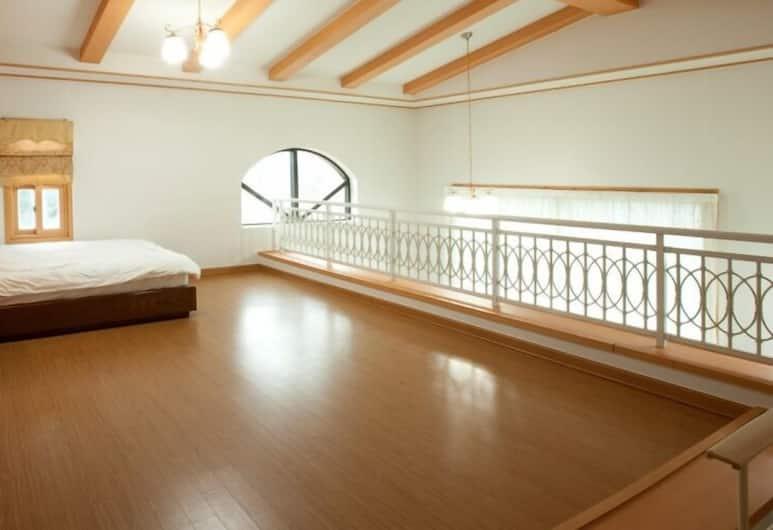 療癒維爾飯店, 西歸浦, 複式房屋, 可使用泳池 (Healing Vill, 4-pax), 客房