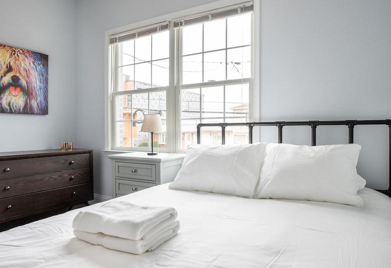 6 Bedroom Duplex Minutes from NYC, ג'רזי סיטי, דירה דה-לוקס, מספר מיטות, ללא עישון, חדר