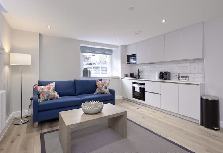 Destiny Scotland New Town Apartments, Edinburgh, Štúdio typu Classic, 1 extra veľké dvojlôžko, Izba