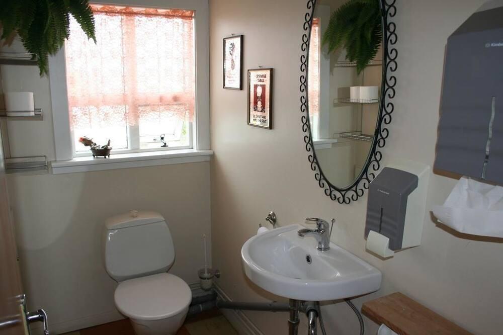 Camera Basic con letto matrimoniale o 2 letti singoli, bagno condiviso - Bagno