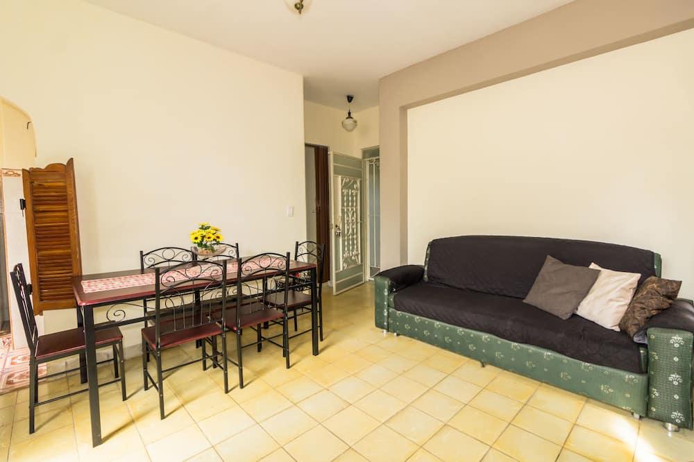 舒適公寓, 1 張標準雙人床, 非吸煙房 - 客廳